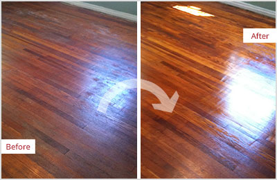 Sir Grout SW Missouri Wood Refinishing Sand Free